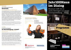 J100H FMM-EEVk ProgrammFlyer - Seite 1